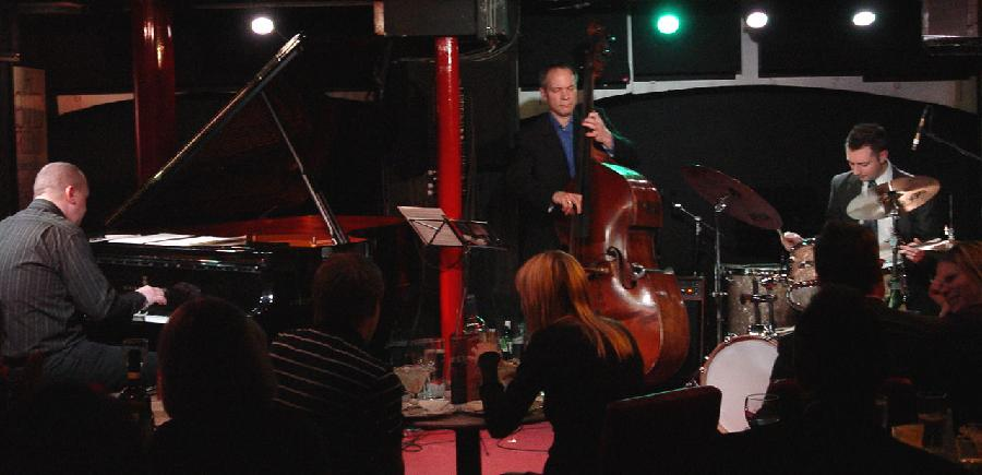 Najponk with Alec Dankworth (bass) and Matt Fishwick (drums) live at Pizza Express,Dean Street,London feb.9.2010