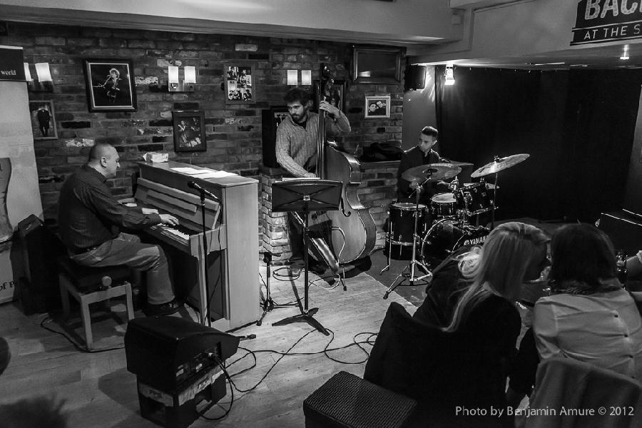 Najponk Trio featuring Andy Robb and Matt Fishwick lice at Spice Of Life,London,UK,1.11.2012
