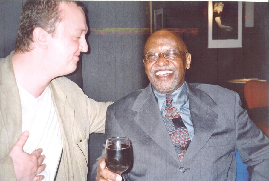 with Junior Mance (Pizza Express, London, summer 2002)