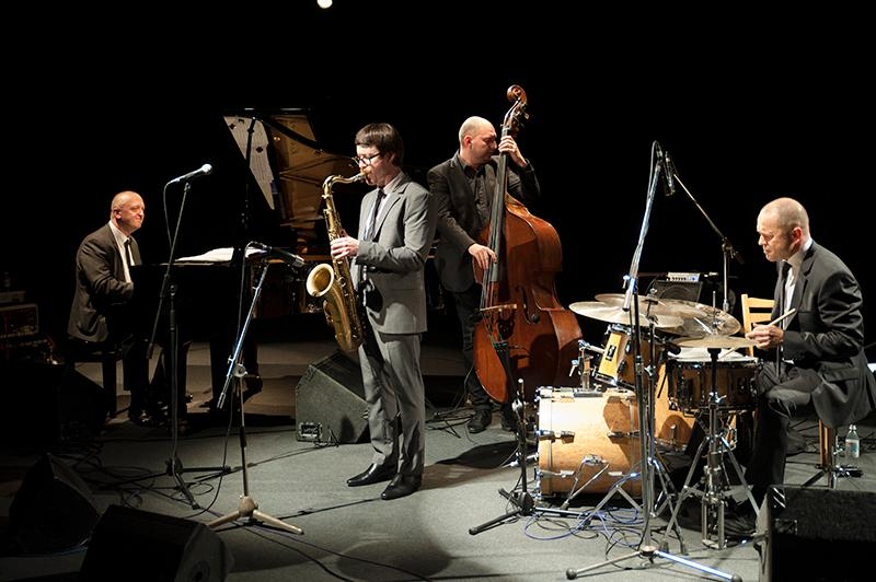 Osian Roberts Quartet JAZZ GOES TO TOWN 2014