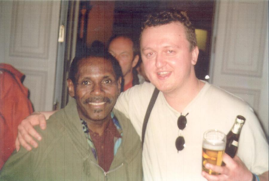 Najponk with George Cables (Jazz Baltica, Germany, summer 2001)