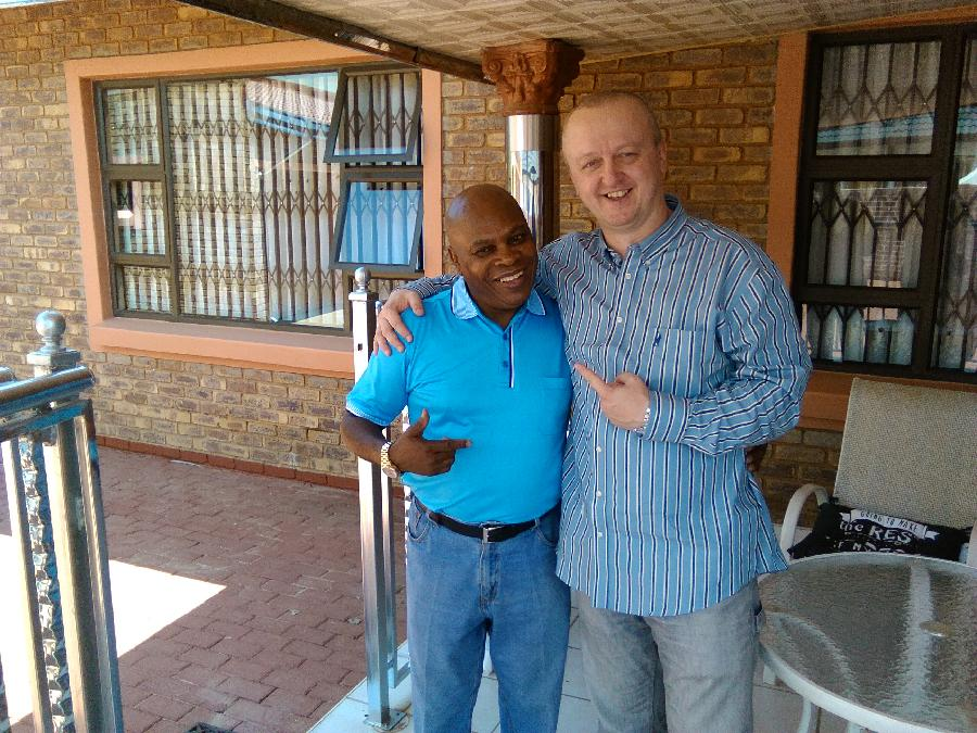 Najponk and Papa Maseko,Benoni,South Africa,dec.20.2015